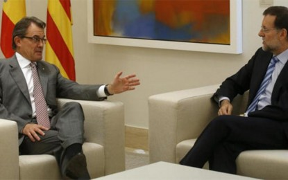 Rajoy se reunirá con el enemigo de España, Artur Mas, el próximo miércoles 30 de julio a las 11:00 horas