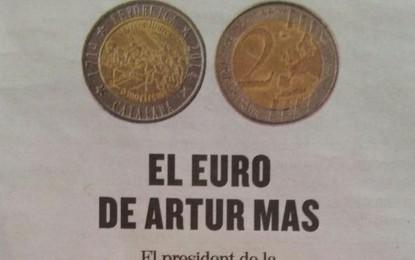 """Abascal denuncia a Artur Mas por acunar en negro la """"moneda separatista"""""""