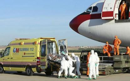Repatriación de una cooperante española de Médicos Sin Fronteras por un posible contagio de ébola, desde Malí