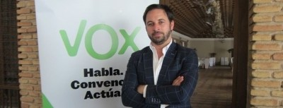 El presidente de VOX, Santiago Abascal Conde / Foto archivo EFe