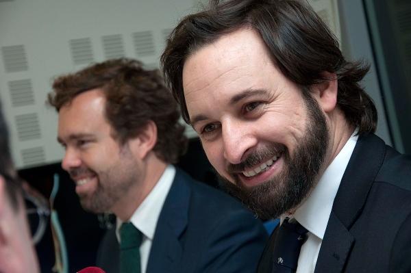 """Abascal anuncia su candidatura para presidir la Comunidad de Madrid y promete trabajar para un """"Estado fuerte"""""""