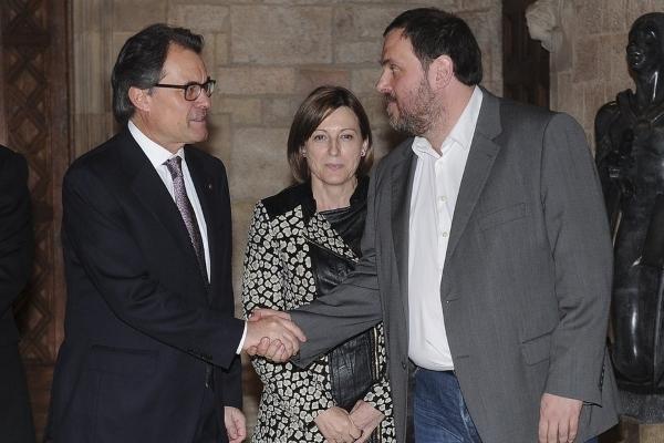 Aplazada la reunión entre Partidos y entidades separatistas por la muerte del fundador de ANC, Lluís Ballús Planas