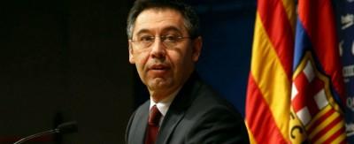 Actual presidente separatista de FC Barcelona, Josep Maria Bartomeu / Foto EFE