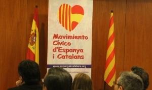 logotipo del colectivo Movimiento Cívico España y Catalanes /foto Joseph A. - Lasvocesdelpueblo