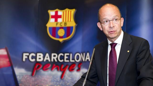 """FC Barcelona señala a """"España como territorio adversario"""" y asegura estar atacado por apoyar la """"autodeterminación"""" de Cataluña"""