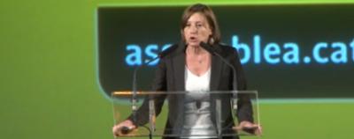 Forcadell amenaza con crear una asamblea de cargos electos para gobernar Cataluña en la clandestinidad.