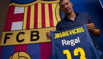 Sarunas Jacikevicius, exjugador de baloncesto de FC Barcelona / Foto archivo FC Barcelona