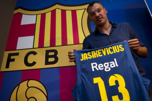"""Jacikevicius, exjugador lituano de FC Barcelona, llama a """"tener valentía"""" para la independencia de Cataluña"""