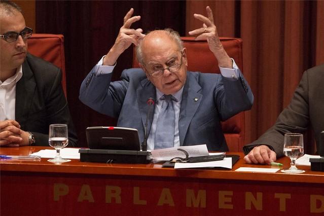 """Pujol se niega a declara y acusa a Cataluña de atacarle con """"dicen, dicen, dicen"""" y se muestra orgulloso"""