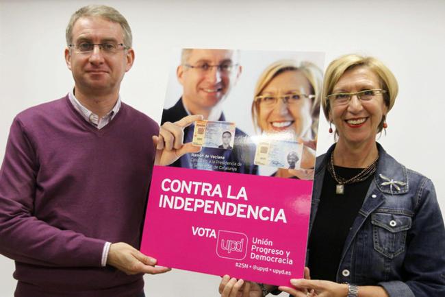 """UPyD Cataluña Sostiene que """"la Burla"""" de Pujol con """"su silencio"""" confirma que es un """"presunto delincuente"""" expresidente"""