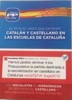 Un padre catalán critica la campaña hipócrita del PP y cree que Rajoy debería ser inhabilitado