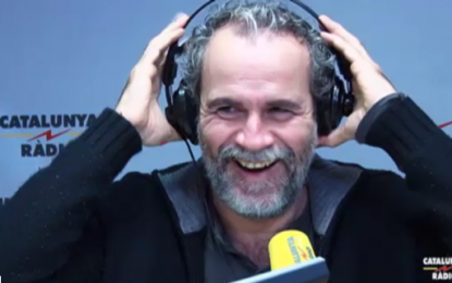 """Willy Toledo defiende la independencia de Cataluña, """"no me siento Español, siento amor por Cuba y Colombia"""""""