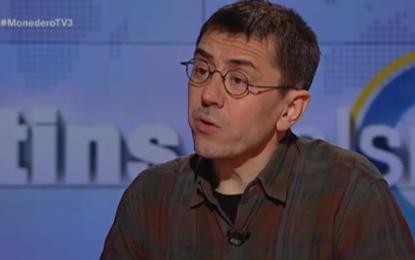 """PODEMOS defiende la Unidad de España en TV3, """"me siento Español y no entiendo mi entidad al margen"""" de Cataluña"""