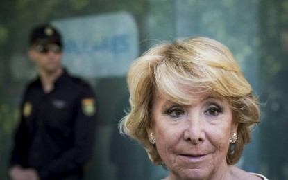 Desesperación en el PP, Esperanza Aguirre quiere ahora un gobierno con Podemos