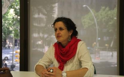 """La Candidata de UPyD Barcelona """"no dudaría en pedir la ilegalización"""" de ANC y critica la """"soberbia"""" de Xavier Trias"""