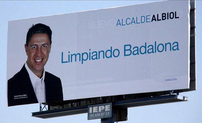 """Albiol (PP Badalona) ofrece un pacto al PSC porque """"Badalona no es un 'pueblucho"""" separatista"""