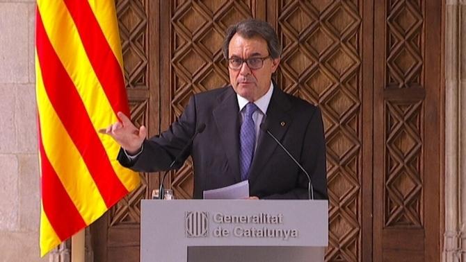 """Artur Mas cree que la decisión del TC refuerza """"el carácter plebiscitario"""" del 27-S"""