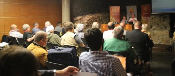 Conferencia Somatemps & MC España y Catalanes en Centro de Estudio Sabadell, C Joan Plans 25, Sabadell a las 1930 horas; 11 de Junio 2015