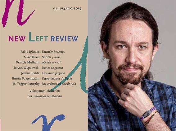 El líder de Podemos: «España en la encrucijada» a New Left Review, en castellano, y su polémica entrevista «Entender Podemos»