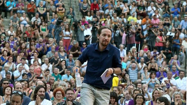 Pablo Iglesias -Podemos- afirma que el eje del 'Sí se puede' sale a ganar las elecciones en Cataluña