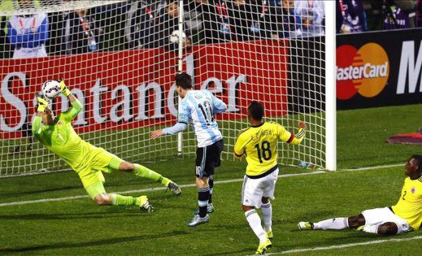 0-0 (5-4): Argentina resolvió en los penaltis un partido que mereció ganar