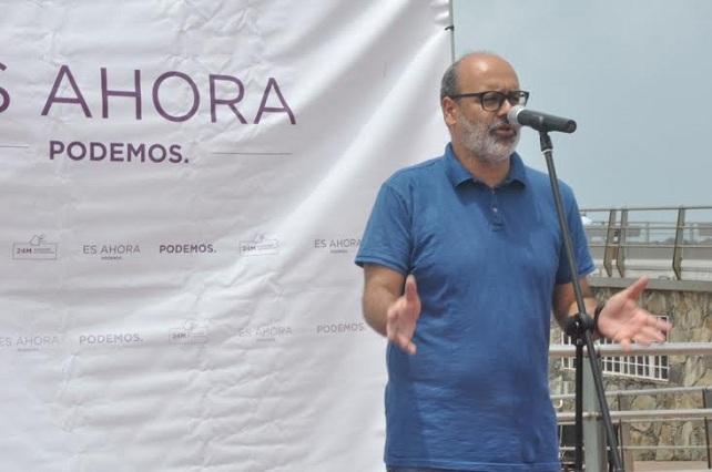 Podemos suspende de militancia a Juan Manuel Brito por una denuncia de abuso a una menor