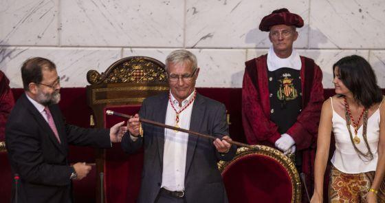 El «nacionalista» Joan Ribó, de Compromís, nuevo alcalde de Valencia tras veinticuatro años del PP