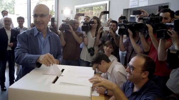 Fracaso de Artur Mas, gana el «Sí» al referéndum de UDC sobre la adhesión al  proceso separatista, según primeros resultados