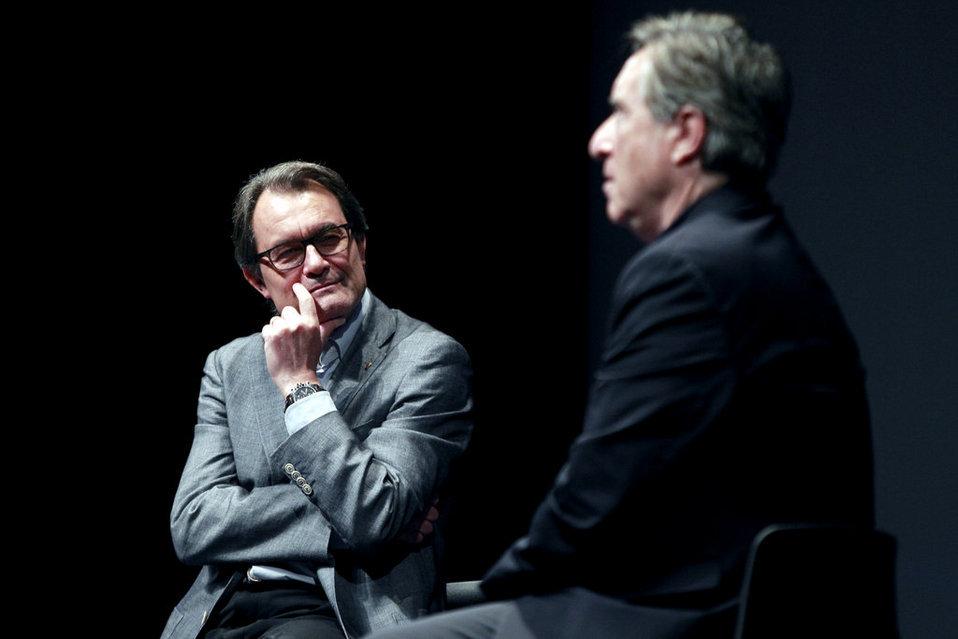 """Artur Mas asegura que dará """"un paso atrás"""" si pierde las elecciones del 27S"""