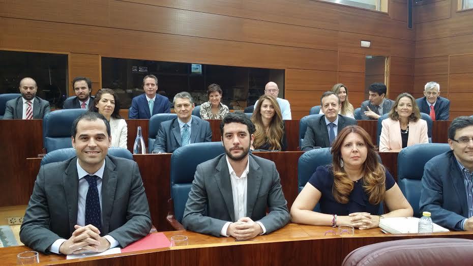 grupo parlamentario de Ciudadanos Madrid, Asamblea de madrid