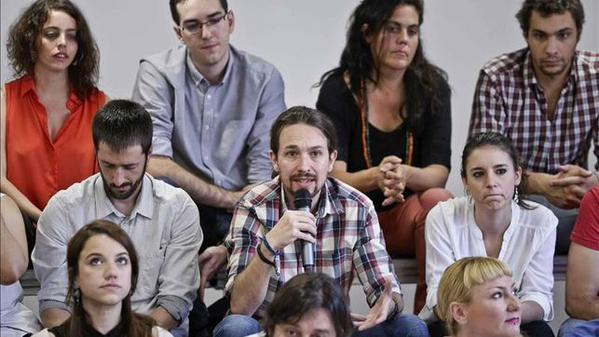 Pablo Iglesias inicia la Ruta del Cambio en Cádiz (Andalucía)