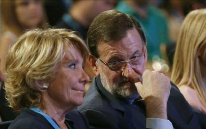 """Esperanza Aguirre dice que """"no hay tiempo que perder"""" para recuperar la confianza en el PP"""