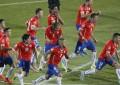 0-0 (4-1). Chile gana en los penaltis la primera Copa América de su historia