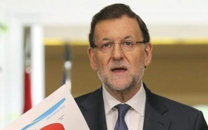 """Rajoy: """"no habrá elecciones plebiscitarias como no hubo referéndum"""" del golpe de 9N separatista"""