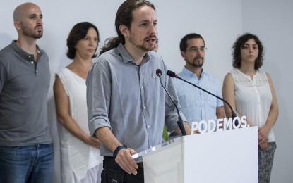 Podemos desmiente y aclara que «fue la Aerolínea Iberia la que ofreció a la agencia de viajes del Parlamento la posibilidad de retrasar el vuelo» Pablo Iglesias