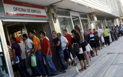 El desempleo aumenta en 18.200 personas en Cataluña y sitúa la tasa del paro en 15,28 %