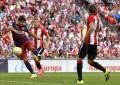 Luis Suárez desatasca al FC Barcelona en San Mamés, 0-1