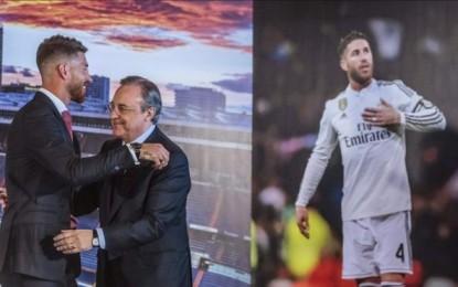 """Sergio Ramos: """"Mi cabeza y mi corazón siempre han estado aquí"""" en el Real Madrid"""
