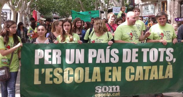 La Justicia tumba al 'catalán' obligatorio en empresas y cine y deja en 25% la cuota de películas en 'catalán'