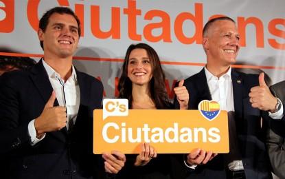 """Ciudadanos se reivindica como """"interlocutor válido"""" para poner el orden en Cataluña"""