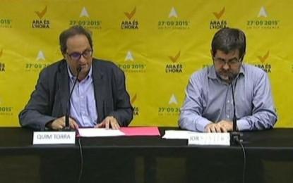 """ANC y Ómnium sobre la investidura de Mas: """"Estamos convencidos de que habrá acuerdo"""""""