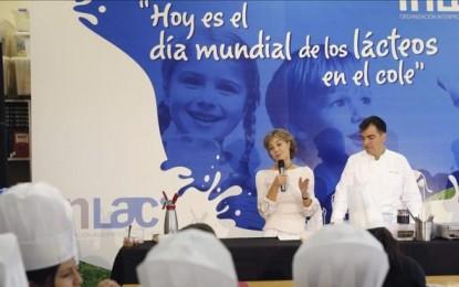 """Isabel García Tejerina (Ministra del PP): """"¿De dónde viene la leche?"""""""