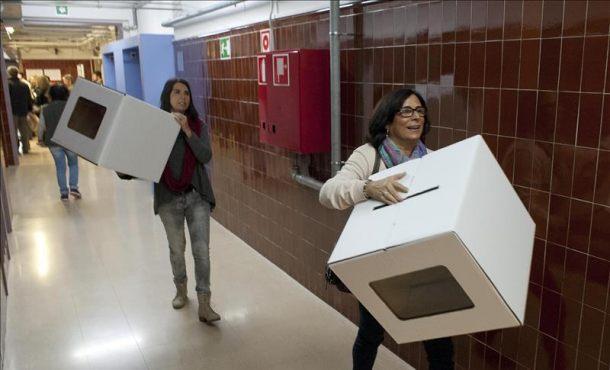 Suban los nervios en Cataluña por la visita de Guardia Civil al presunto escondite de urnas del referéndum
