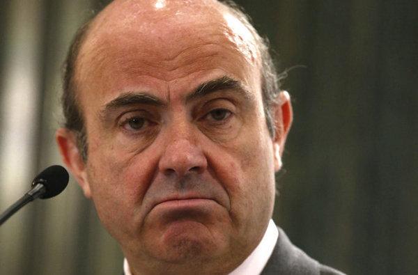 Resultado de imagen de ministro de economia españa