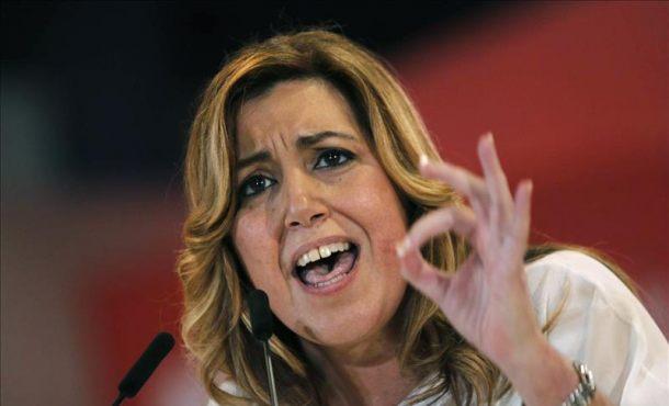 """Susana Díaz (PSOE) pide defender la Constitución Española por encima de """"intereses personales"""""""