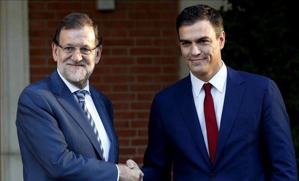 """Rajoy (PP) y Sánchez (PSOE) debatirán """"cara a cara"""" sentados y moderados por Campo Vidal"""
