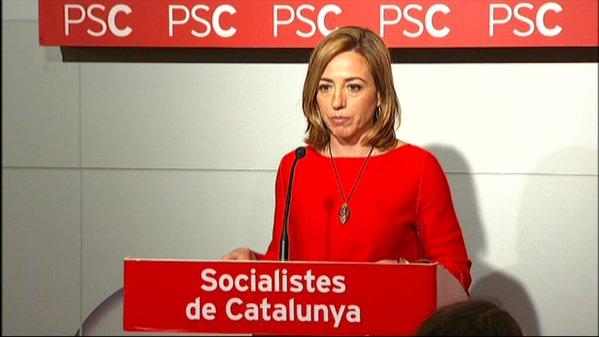 """Chacón: """"Ni un solo voto de los socialistas catalanes permite mantener Rajoy en el gobierno"""""""