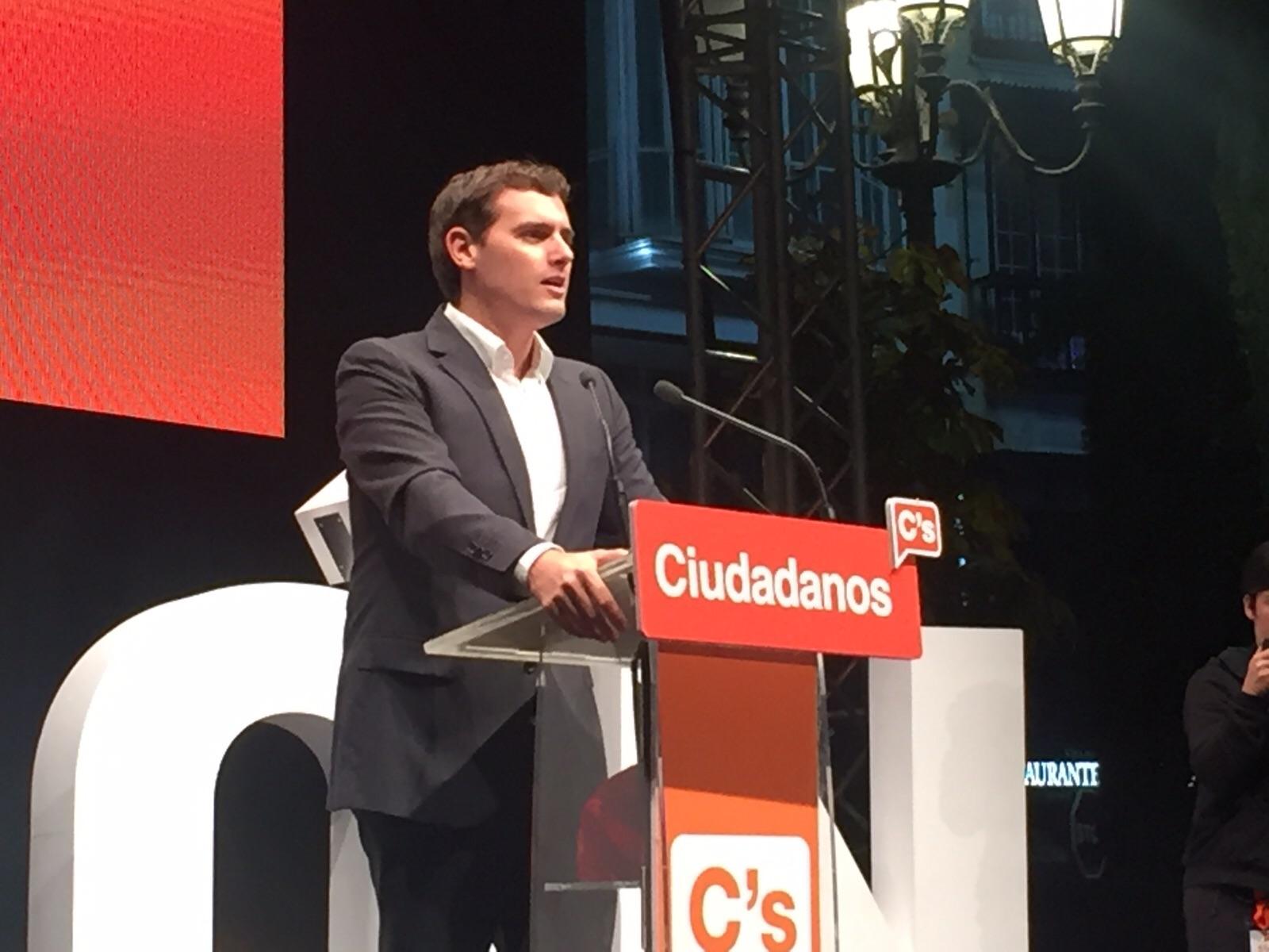 """Rivera: """"La solución al populismo y al inmovilismo es una gran participación en las urnas"""""""