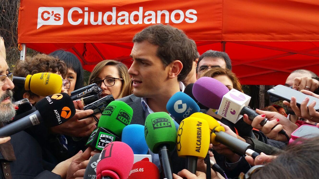 """Albert Rivera: """"Ayer todos los españoles vimos al último debate del bipartidismo decadente"""""""