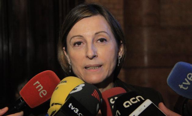 """Forcadell no acata porque: """"La sentencia del TC no anula la voluntad del pueblo de Cataluña"""""""